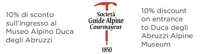 Guide Courmayeur - Voucher per sconto