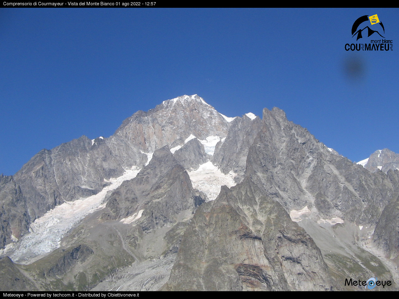 Mont Blanc Webcam