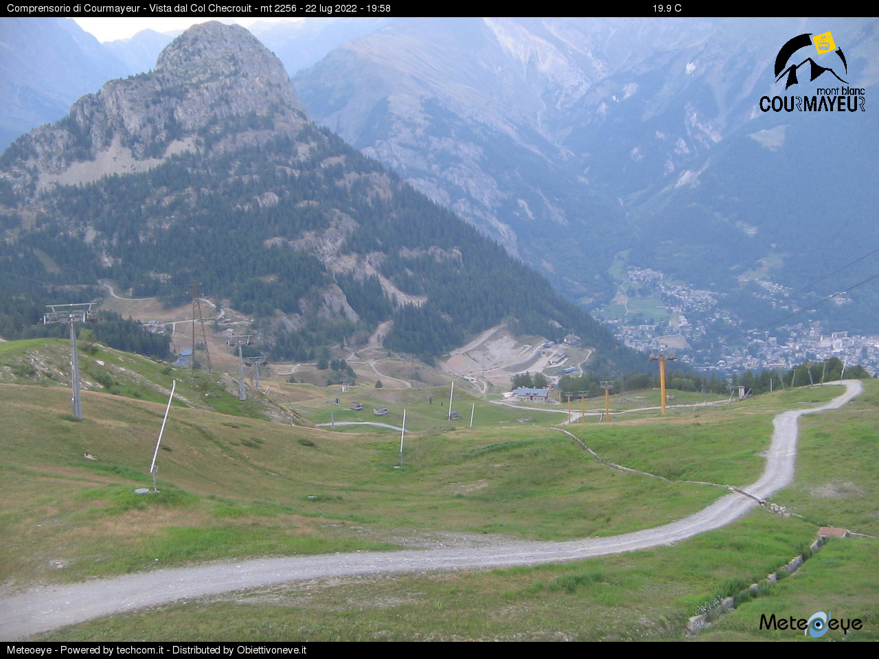 Webcam Neve Courmayeur
